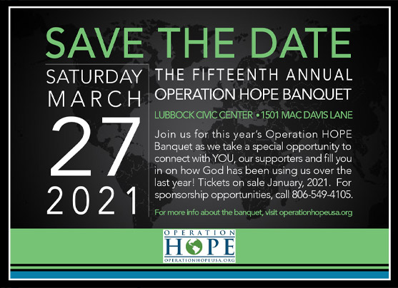 Operation HOPE USA Annual Banquet 2020